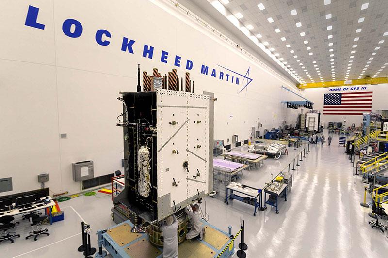 Lockheed Martin's GPS III SV03 became fully integrated in August 2017. (Photo: Lockheed Martin/USAF)