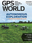 GPS World April 2018 cover