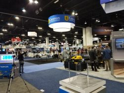 A view of the show floor. (Photo: GPS World staff)
