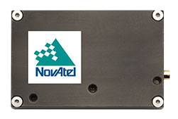 The OEM7600 receiver board. (Photo: NovAtel)