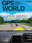 GPS World May 2018 cover