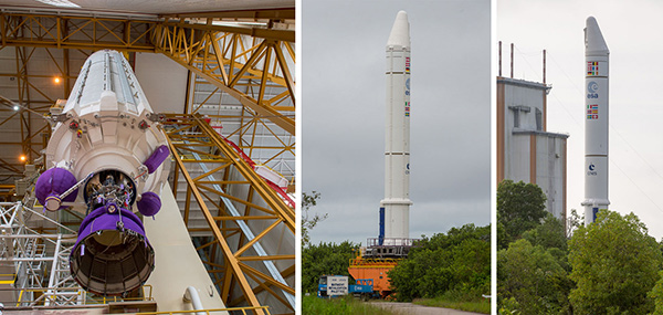 Photos: Arianespace