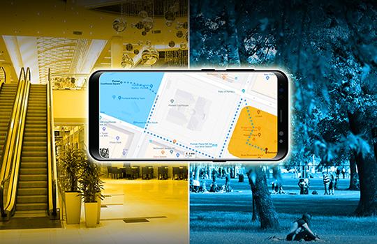Image: GPS World; outdoor, Andriy Solovyov/Shutterstock.com; indoor, Rade Kovac/Shutterstock.com