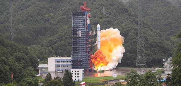 China sends the 33rd and 34th BeiDou satellites into space on July 29. (Photo: Xinhua/Liang Keyan)