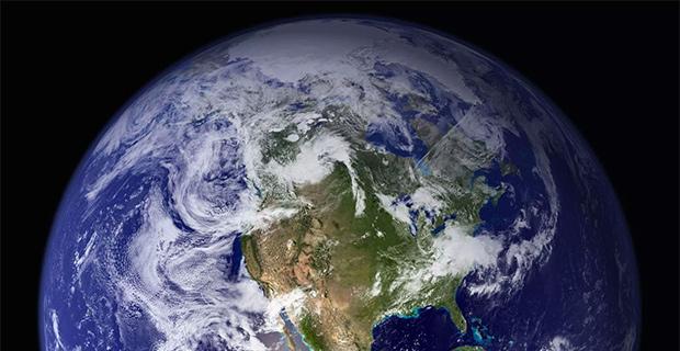 Earth's western hemisphere, 2002. (Photo: NASA)