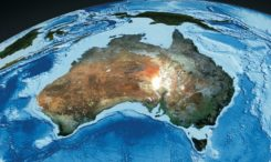 Satellite image from Digital Earth Australia.