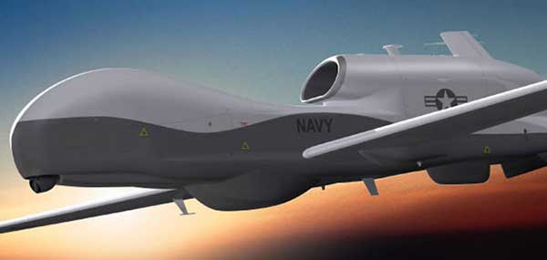 Northrop Grumman Triton High Altitude UAV. (Photo: Northrop Grumman)