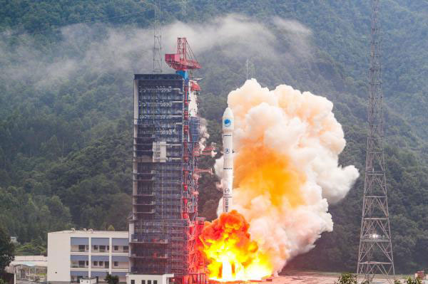 China launched two more BeiDou satellites on Aug. 25, 2018. (Photo: CCTV)