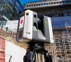 Leica RTC360 laser scanner. (Photo: Hexagon)