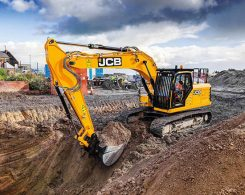The JCB 220X Excavator at work. (Photo: JCB)