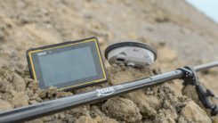 Leica Geosystems selects Getac's ZX70 tablet To power its new Zeno GG04 Plus tablet solution. (PRNewsfoto/Getac)