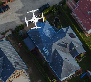 The EagleView partnership enables drone insurance inspections. (Photo: PrecisionHawk)