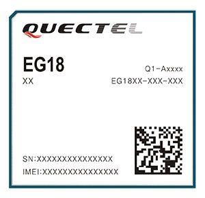 EG18 module. (Photo: Quectel)
