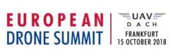 European Drone Summit 2018 logo