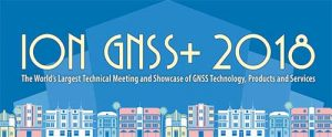 Logo: ION GNSS+ 2018