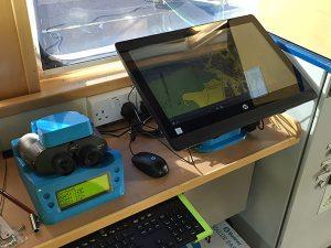 FIGURE 6. The BinoNav installation on THV Alert. (Photo: Author)