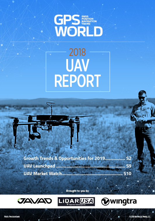 Uav Report Growth Trends Amp Opportunities For 2019 Gps World