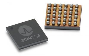 Broadcom's BCM47755 chip. (Image: Broadcom)