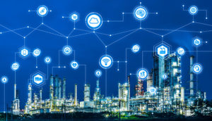 AIworx machine learning and IoT technologies leverage digital twins' analytics visibility for infrastructure asset performance. (Image: iStock.com/metamorworks via Bentley Systems)