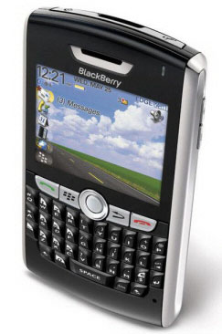 A recent model Blackberry PDA. (Photo: Blackberry)