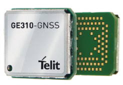 The GE310-GNSS module. (Image: Telit)