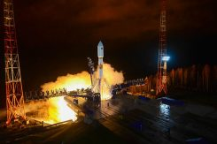 A GLONASS-M was launched Nov. 3 from the Plesetsk cosmodrome. (Photo: Russian Ministry of Defense)