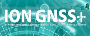 Logo: ION GNSS+ 2019