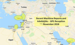 Map: U.S. Maritime Administration Advisory 2018-014-GPS