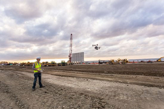 PrecisionHawk and Uplink will combine products for construction projects. (Photo: PrecisionHawk)