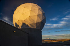 Ground antenna at Schriever Air Force Base, home of the 50th Space Wing. (Photo: Raytheon)