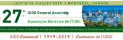 Logo: 27th IUGG General Assembly