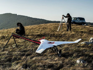 UAV survey operations benefit from multi-GNSS receivers. (Photo: Septentrio)