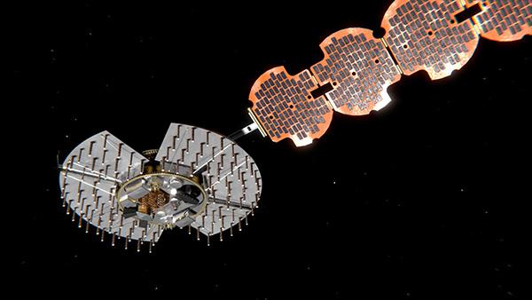 Satellite NTS-3 closeup. (Illustration: Lt. Jacob Lutz, AFRL Space Vehicles Directorate)