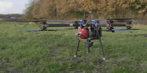 Test-drone with Intelligent Energy Hydrogen Fuel-Cell. (AVI screenshot supplied by Productiv)