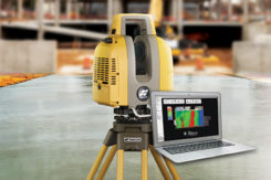 The GLS-2000 laser scanner. (Photo: Topcon)