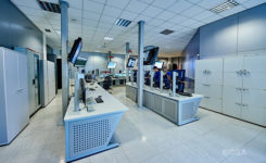 Galileo's Control Centre in Fucino is used to oversee the satellites' navigation payloads and services.(Photo: ESA)