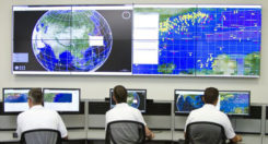 The Orolia PRISMA Mission Control Center. (Photo: Orolia)
