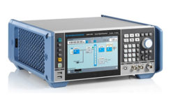 The R&S SMBV100B vector signal generator simulates GNSS and MBS signals. (Photo: Rohde & Schwarz)