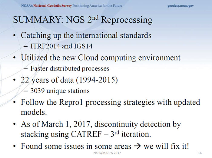 Slide: National Geodetic Survey presentation by Kevin Choi