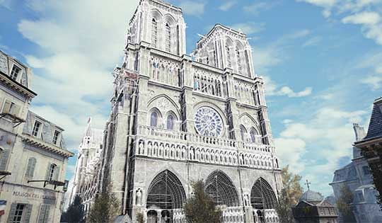 3d Mapping Of Notre Dame Will Help Restoration Gps World