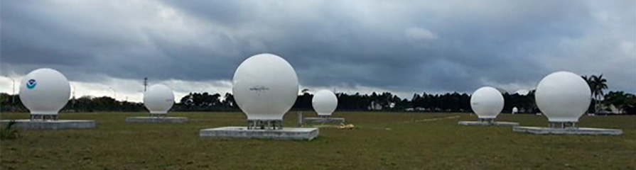 Cospas-Sarsat ground stations are called Local User Terminals (LUTs). These satellite receiving units are the ground stations that receive emergency beacon distress alerts. (Photo: NOAA)