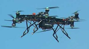 Boeing's tilt-rotor UAV prototype recently flew its first test flight.(Photo: Boeing)