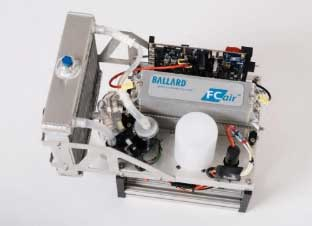 FCair 600w hydrogen fuel cell. (Photo: Ballard)