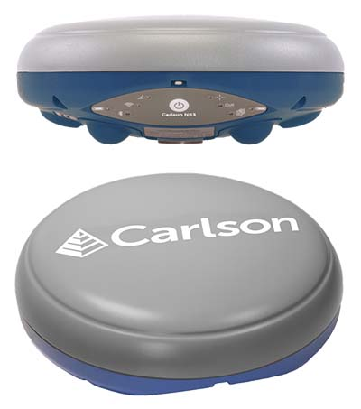 Carlson offers NR3 compact, lightweight GNSS receiver - GPS World