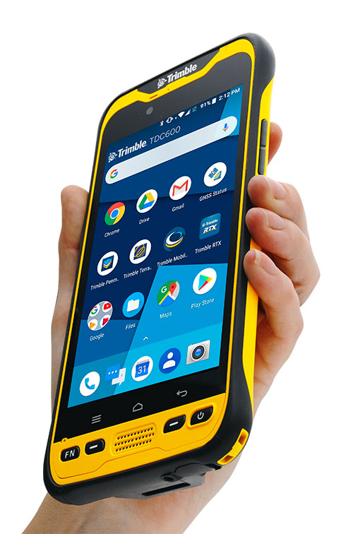 Trimble TDC600 integrates smartphone and GIS data collector