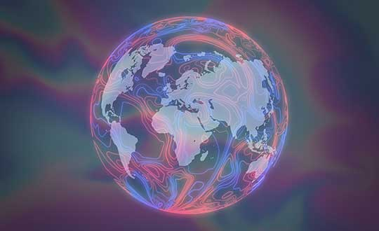 Earth's magnetic fields. (Image: Lockheed Martin)