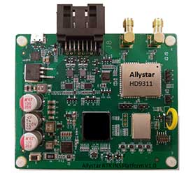 Allystar RTK/INS Evaluation Board V1.0. (Photo: Allystar)