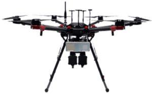 The Fortem DroneHunter intercept drone. (Photo: Fortem)