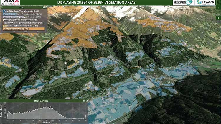 Screenshot: Hexagon Geospatial