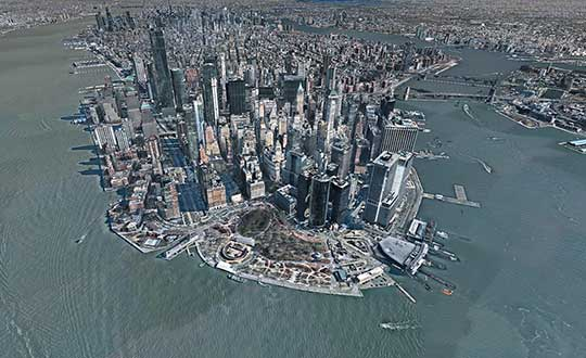 3D image of Manhattan. (Photo: Nearmap)